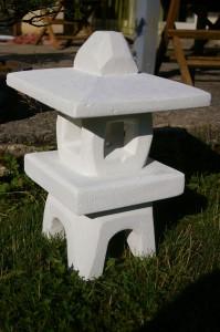Lanterne – Sculpture en béton cellulaire